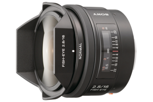 16mm F2.8 Fisheye Lens