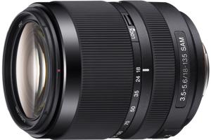 DT 18-135mm F3.5-5.6 SAM Zoom Lens