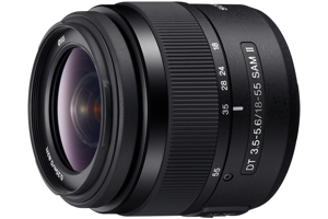 DT 18-55mm F3.5-5.6 SAM II Zoom Lens