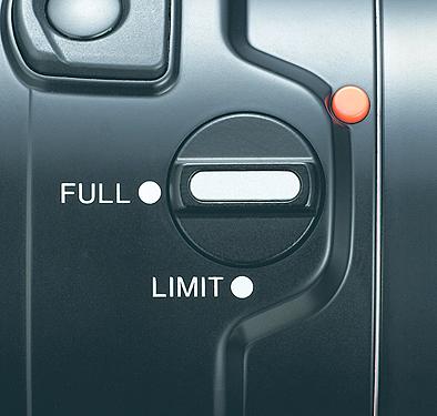 Focus range limiter