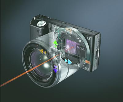 Lens-based optical image stabilization