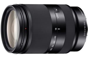 E 18-200mm F3.5-6.3 OSS E-mount Zoom Lens
