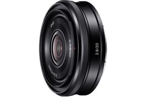 E 20mm F2.8 E-mount Prime Lens