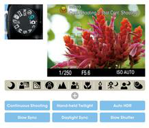 Achieve outstanding image quality when using sophisticated auto features