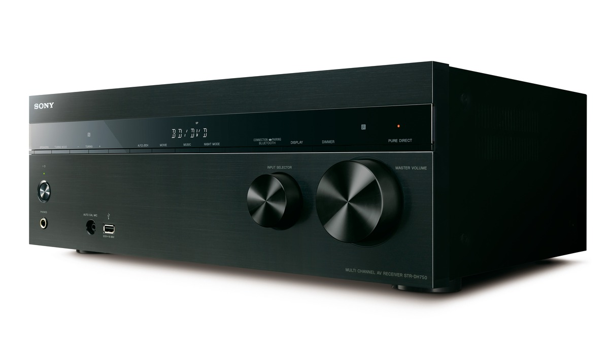 Sony Str Dh750 72 Ch 4k A V Receiver With Bluetooth Strdh750 Pin Subwoofer Filter Crossover 11 90 Hz Frequency Circuit On Pinterest Electronic Express
