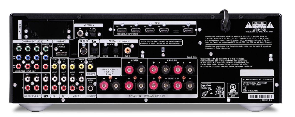 sony str dn1000 audio video receiver 7 1 channel 1080i 4x hdmi rh tigerdirect com str-dn1000 manual str-dn1000 remote