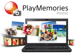 PlayMemories Home<sup>™</sup> software