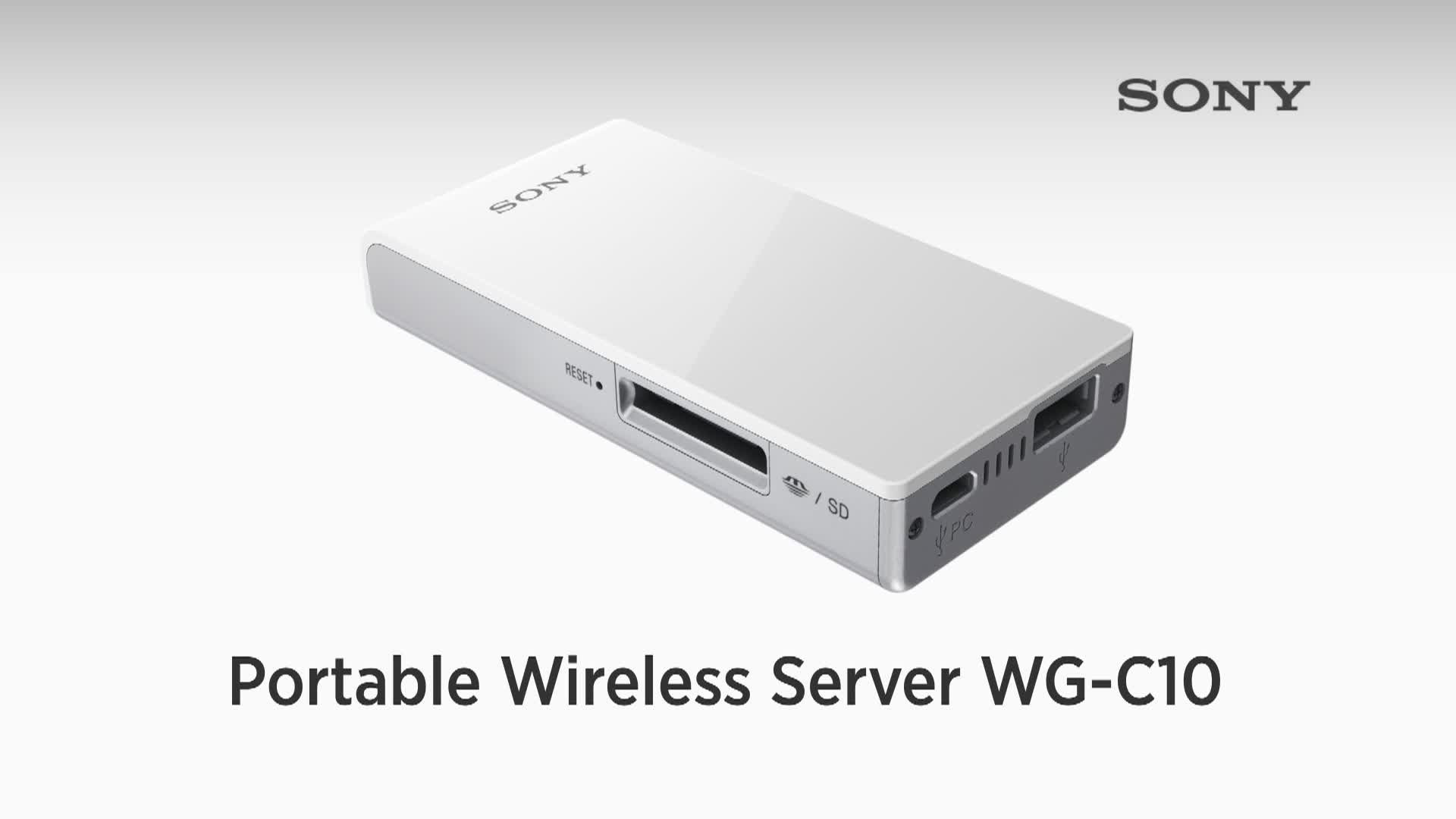 Portable Wireless Server