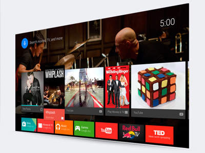 Your favorite apps, on your TV
