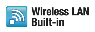 Goodbye wires, hello built-in Wi-Fi<sup>®</sup>