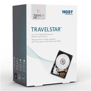 Travelstar® 1TB 2.5-inch High Performance Mobile Hard Drive