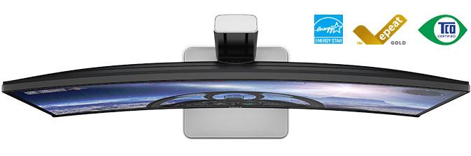 Monitor curvo Dell UltraSharp 34 – U3415W: Prestazioni rivoluzionarie.