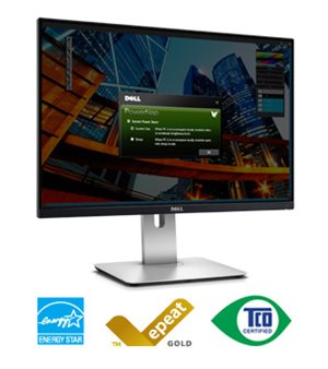 Dell UltraSharp 24 Monitor – U2415: World-class screen performance for any office.