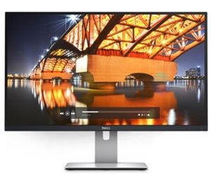 Dell UltraSharp 27 Monitor – U2715H: Brilliant view. World-class performance.