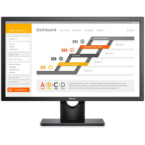 Dell 24 Monitor E2417H: Every feature you value.