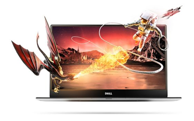 Dell XPS 13: Erasing borders, starting with the display.