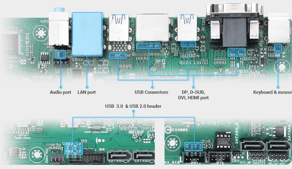 ASUS PRIME Q270M-C Mainboard