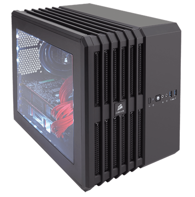 A compact PC case made for maximum cooling.