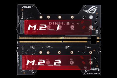 Dual PCIE X4 Gen 3 M.2