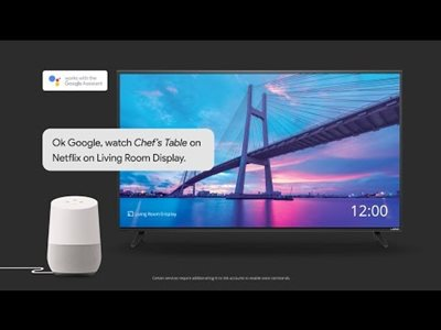How to Use Google Home with your VIZIO SmartCast™ Display