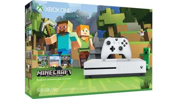 Xbox One S 500GB Console - Minecraft Favorites Bundle - Newegg com
