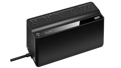 APC Back-UPS BE425M Battery Backup, 6 Outlet, 425VA/255W Item # 302297