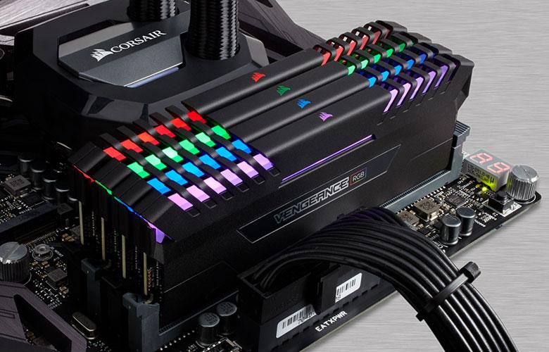 CORSAIR Vengeance RGB DRAM 16GB (2 x 8GB) 288-Pin DDR4 3600 (PC4 28800)  Desktop Memory for Intel 100/200 Model CMR16GX4M2C3600C18 - Newegg com