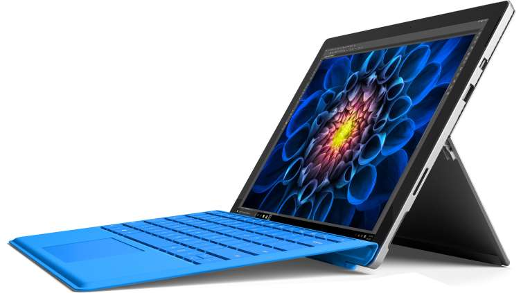 microsoft surface pro 4 12 3 in intel core i5 2 4ghz 4gb 128gb