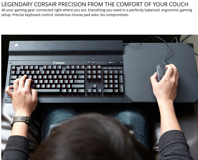Corsair Gaming LAPDOG Gaming Control Center - Newegg com
