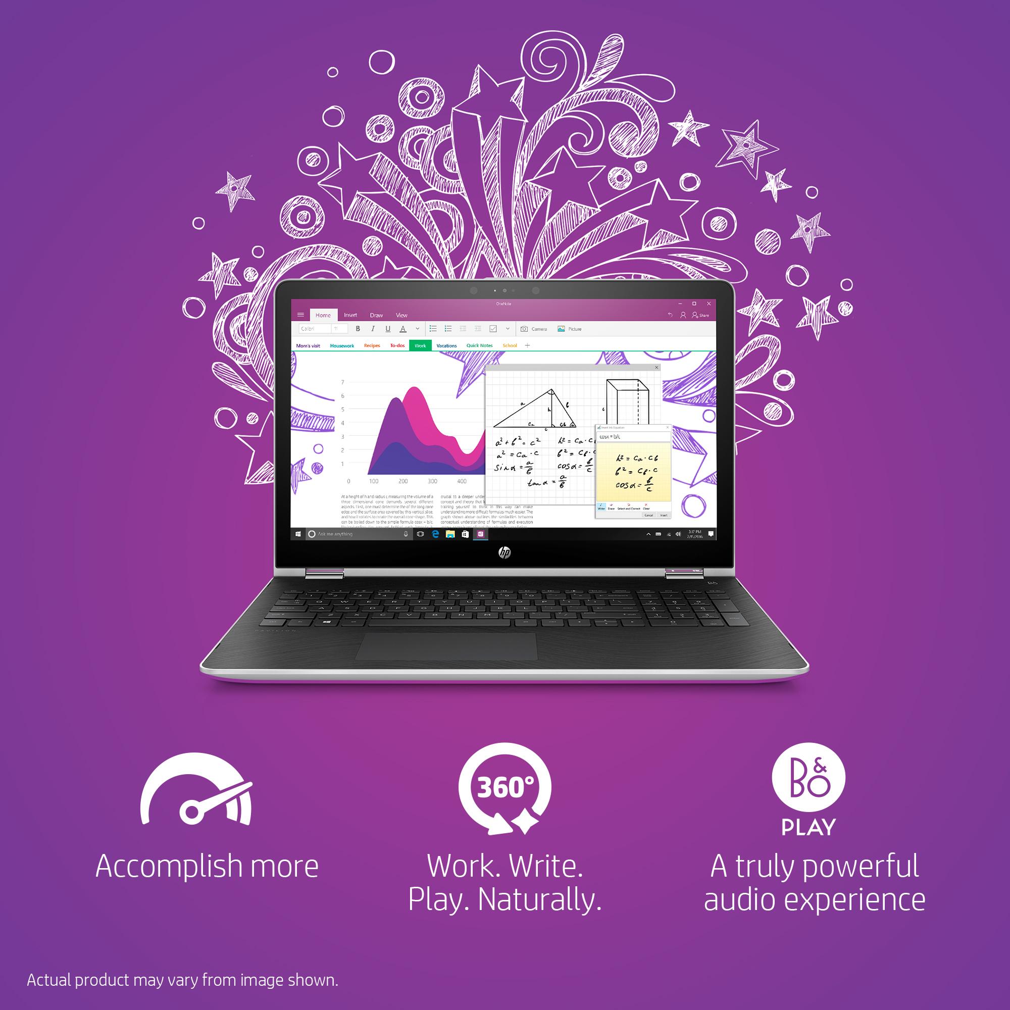 HP Pavilion x360 Convertible Laptop 15 6 Touch Screen Intel Core i5