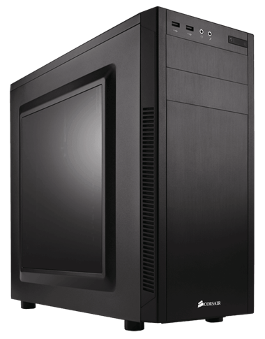 Elegant and modern on the outside, with all the features a serious PC builder needs on the inside.