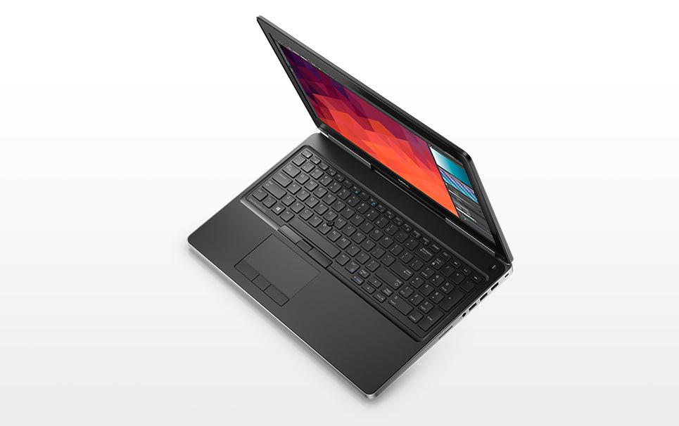 Dell Precision M7520 Core i7-6820HQ 16GB 512GB AMD Radeon Pro 4GB 15 6 Inch  Windows 7 Professional Laptop
