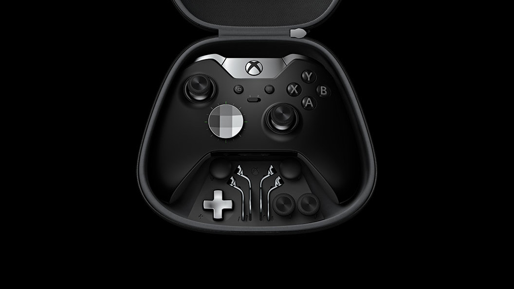 slide 9 of 11,show larger image, xbox elite wireless controller