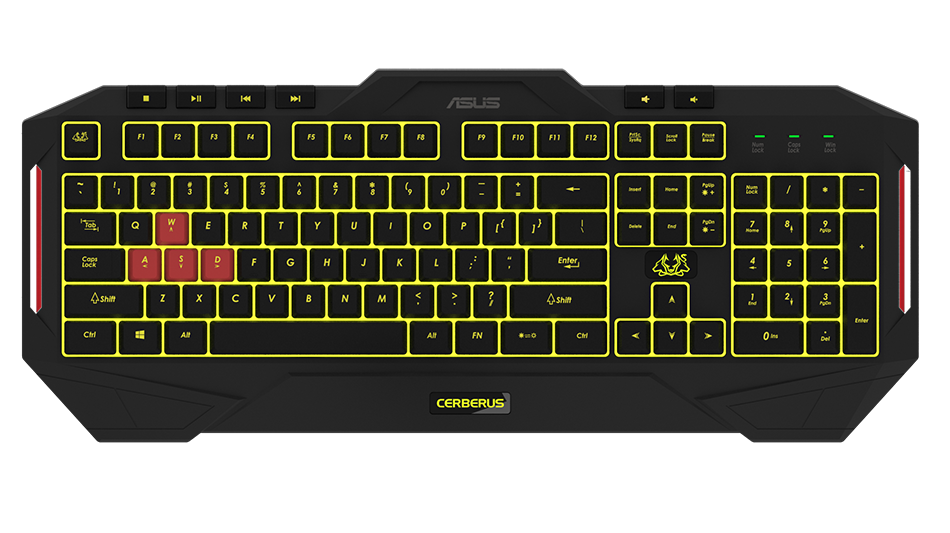 ASUS Cerberus Keyboard MKII Gaming Tastatur