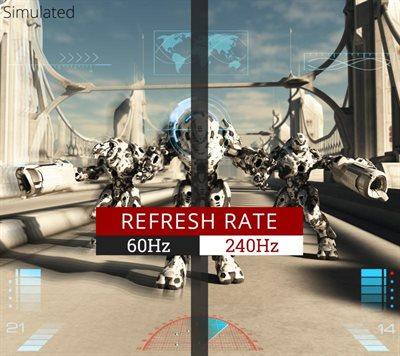 240Hz Refresh Rate