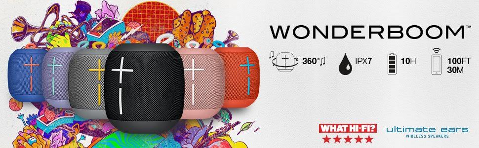 Ultimate Ears WONDERBOOM - Phantom  8a8af278ac2da