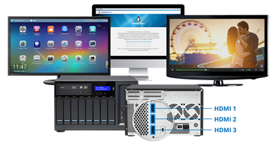 TVS-882BRT3-ODD-i5-16G 8 Bay 3 4 GHz QC incl ODD BR 4x THB