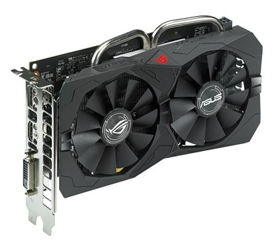 ASUS ROG STRIX-RX560-4G-GAMING Grafikkarte