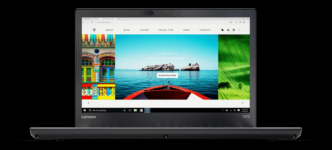 Lenovo ThinkPad T470 Business Laptop