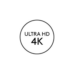 Ultra HD 4K image sensor