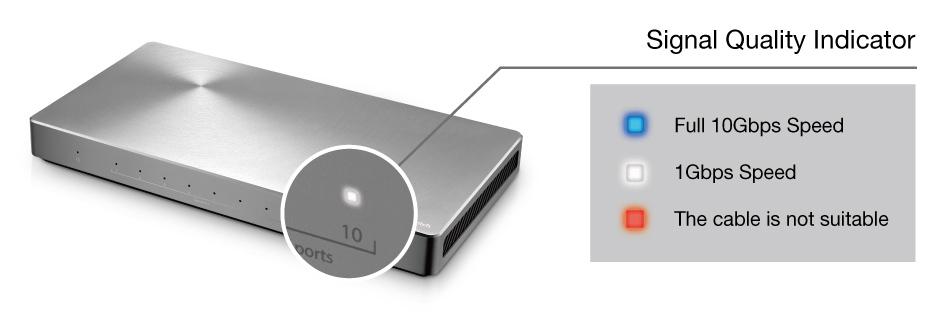 ASUS XG-U2008 Unmanaged-Switch