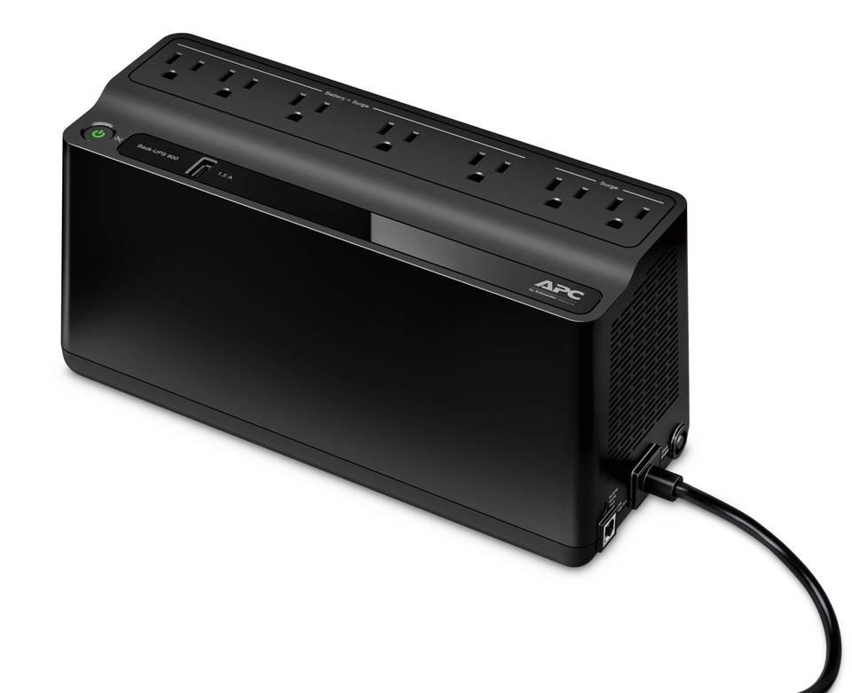 APC Back-UPS 600VA UPS Battery Backup & Surge Protector with USB