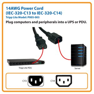Extend Your Server's Power Connection by 3 ft.