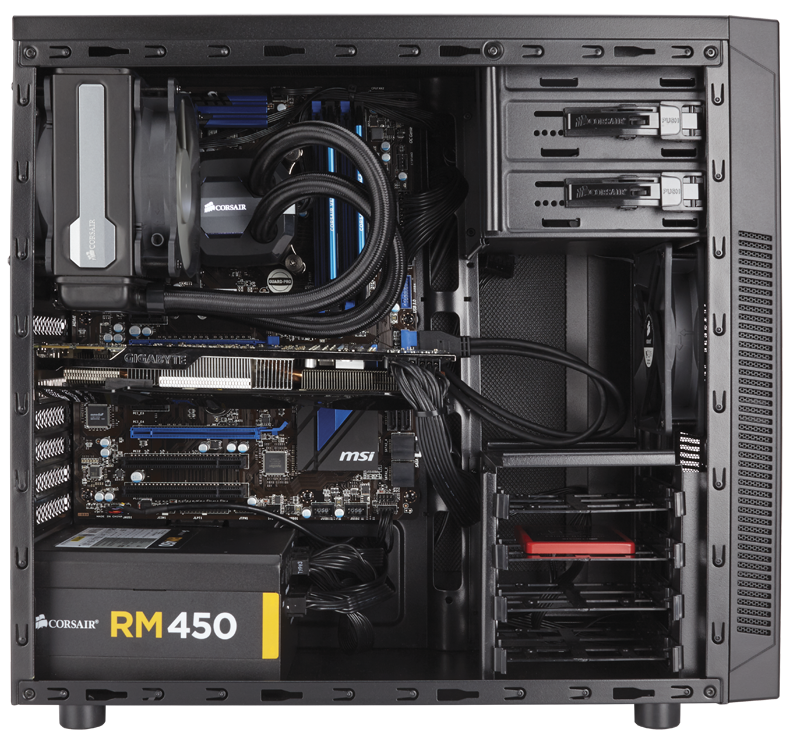 Carbide series™ 100r silent edition mid-tower case.