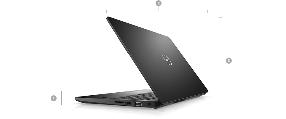 Dell Latitude 3580: Protection professionnelle incomparable