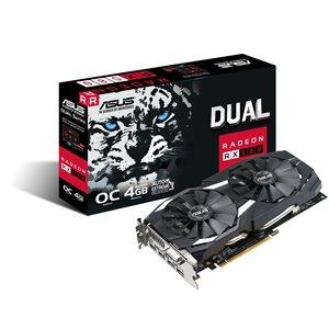ASUS DUAL-RX580-O4G Gaming Grafikkarte