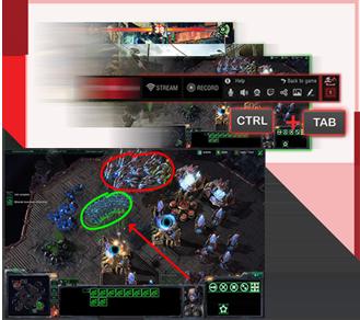 XSplit Gamecaster: Direktes Live-Streamen des Spielgeschehens