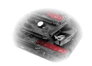 Zwei PCIe GEN3 M.2