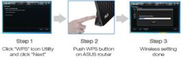 WPS- (Wi-Fi Protected Setup) Funktion