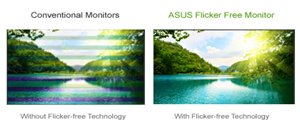 ASUS Flicker Free Technologie